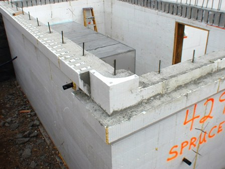 Soundproofing cinder block walls how soundproof for Foam block wall construction